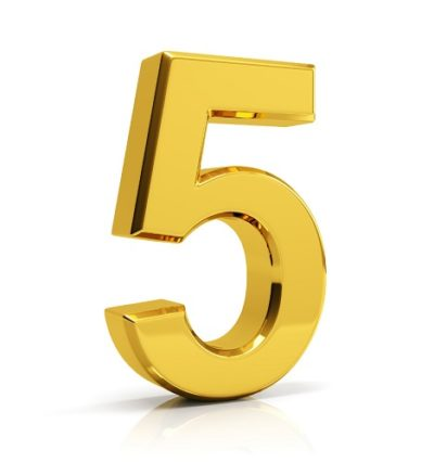 5 rzeczy